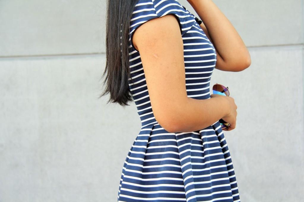robe marinière wal-g profil